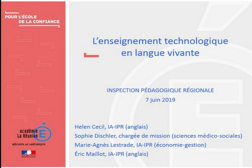 l u0026 39 enseignement technologique en langue vivante  etlv